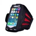 Držák mobilu na ruku sport - červená