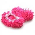 Papuče z mikrovlákna - červené