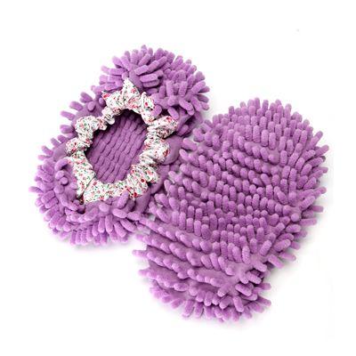Prachové návleky z mikrovlákna - fialové