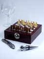 Příslušenství na víno šachy