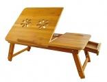 Stolek na notebook dřevěný