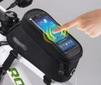 """Cyklistické pouzdro na mobil Roswheel 4,8"""" - zelené"""