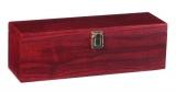 Dárkový box na 1 víno mahagon - 4 pomůcky