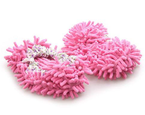 Prachové návleky z mikrovlákna - růžové