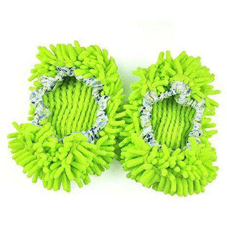 Prachové návleky z mikrovlákna - zelené