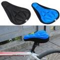 Pohodlný 3D potah na cyklistické sedlo - červený
